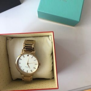 Gold Kate Spade Watch